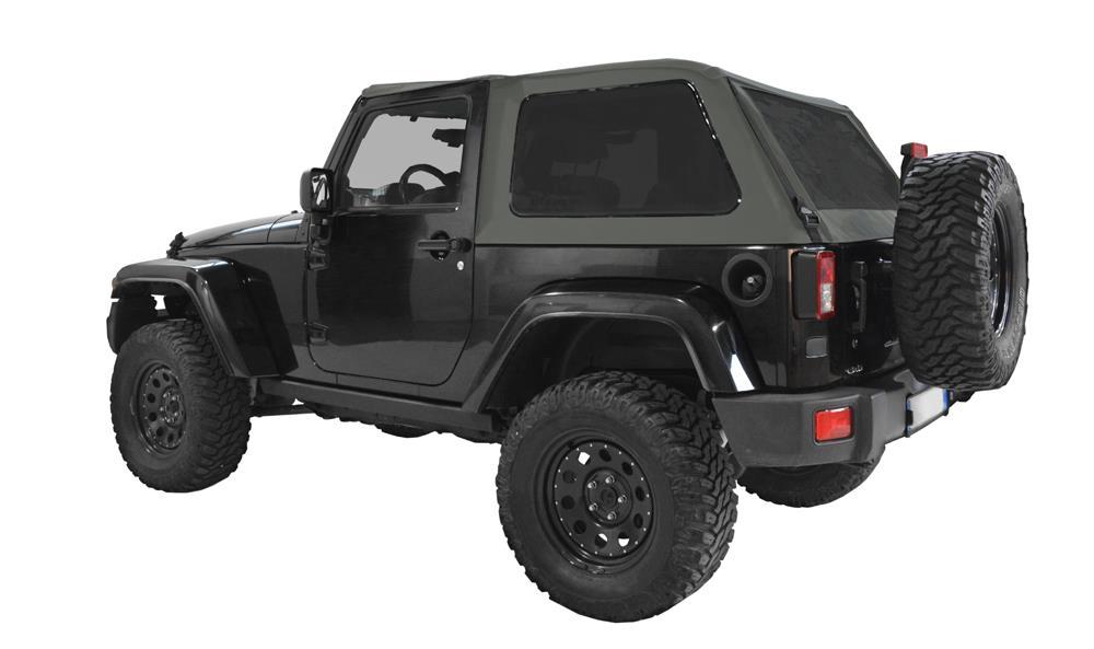 Jeep hardtop fastback