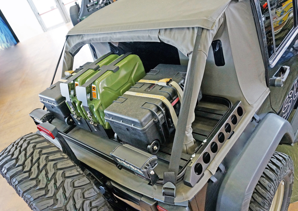 Jeep Soft Tops >> Cargo Rack - Suntop