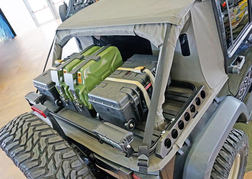 Cargo Rack Suntop